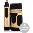 Power Touch Gold Edition - Draadloos Scheerapparaat - Inclusief Trimmer