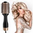 Magic Brush Föhnborstel - Krulborstel - Keramische Haarborstel voor Volume en Drogen - 4 in 1 Multistyler voor elk haartype - Volumizer - Goud