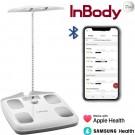 InBody Dial H20B - smart weegschaal met vet/spier meting - lichaamsanalyse - Bluetooth & app (Soft White)