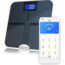 levanda - slimme personen weegschaal met lichaamsanalyse - digitale personenweegschaal met app - smart scale vetpercentage