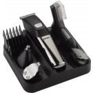 Pro-Care 6 in 1 RVS baard, haar en body trimmer tondeuse. Met 6 extra RVS opzetkammen voor de perfecte lengte overal. Kleur RVS Zilver
